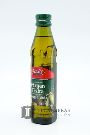 ACEITE VIRGEN EXTRA BORGES 250ML BOTELLA CRISTAL