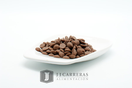 COBERTURA CHOCO con LECHE 823NV GOTAS 33,6%  2,5KG caja 10k