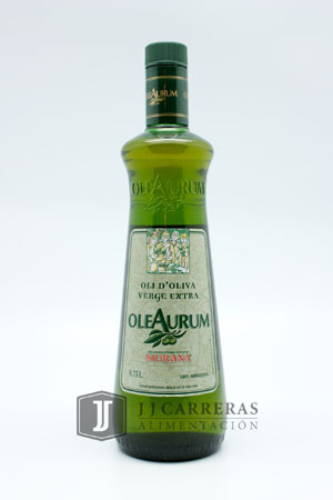 ACEITE VIRGEN EXTRA OLEARUM ARBEQUINA 750 ML BOTELLA CRISTAL