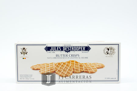 GALLETAS MANTEQUILLA 100GR. JULES DESTROOPER